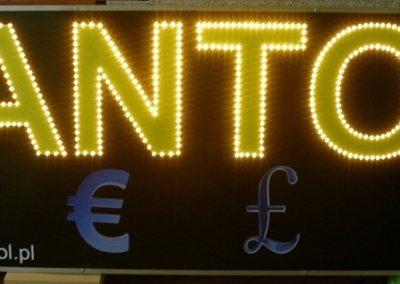 Reklama diodowa LED Kantor