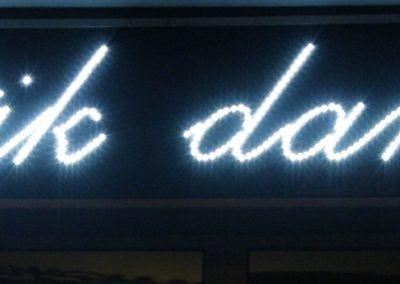 Reklama diodowa LED Butik