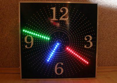 zegar LED